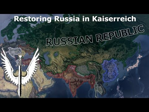 Making Russia Great Again (Hoi4 Kaiserreich Speedrun/Timelapse)
