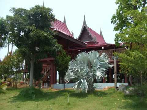 Thai house modern style for sale in suphanburi thailand youtube A sprawling modern home in bangkok