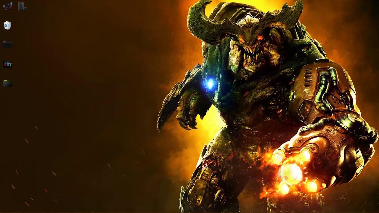 wallpaper engine doom monster live wallpaper free download - YouTube