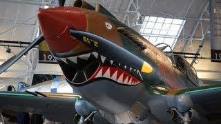 Flying Tiger P-40 Tomahawk Fighter