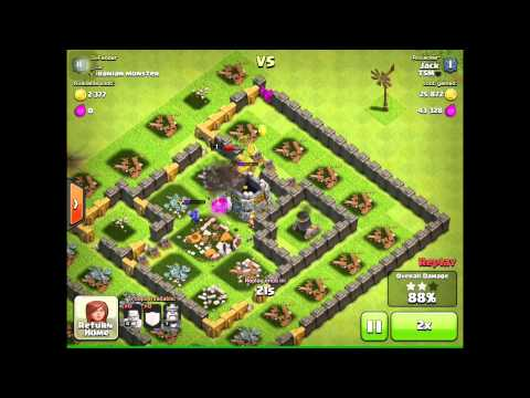 Clash Of Clans |BARBARIAN RUSH!!!|