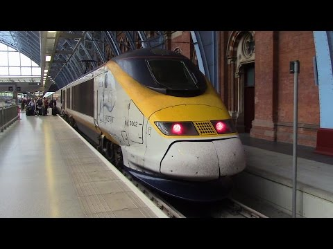Eurostar - London St. Pancras, UK to Brussels Midi, Belgium (June 13, 2015)