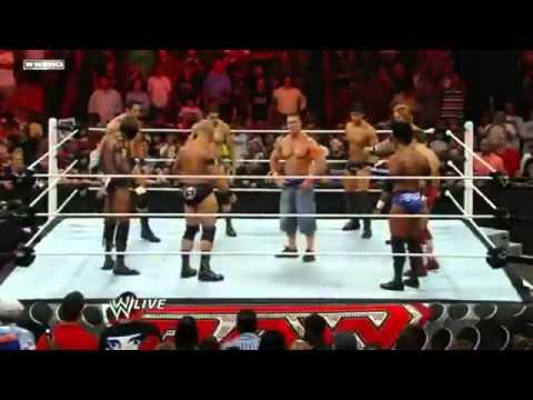 The Nexus WWE Debut