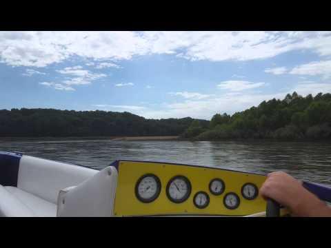 Scorpion Venom jet boat July 2015 Gasconade River
