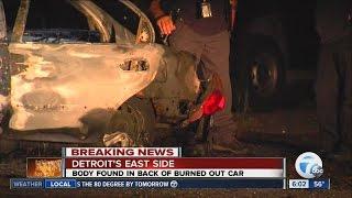 Body found in trunk of car in Detroit