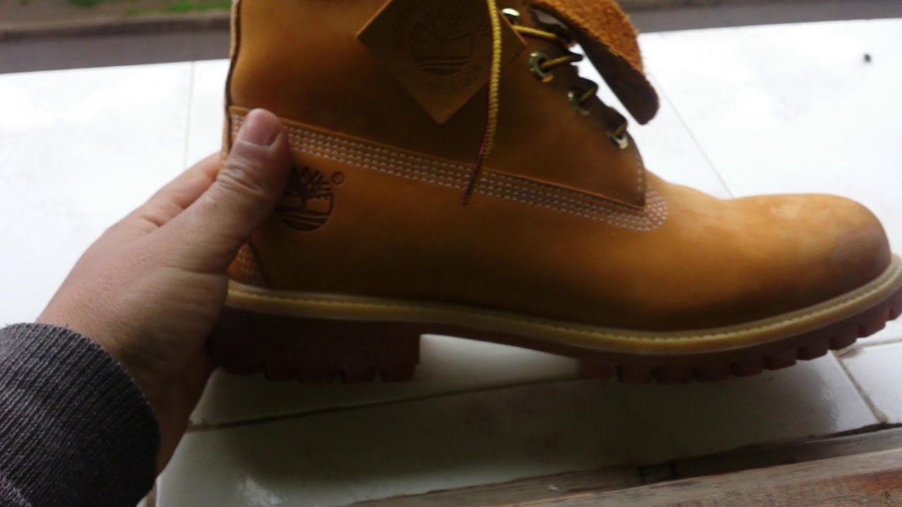 01b4bf023695 Real or fake timberland boots  - YouTube