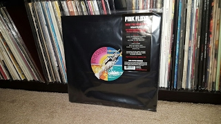 Unboxing - Pink Floyd Wish You Were Here 2016 Remastered Vinyl LP (PFRLP9)