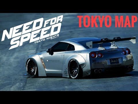 Need For Speed Tokyo Nights || Map Design (CONCEPT)