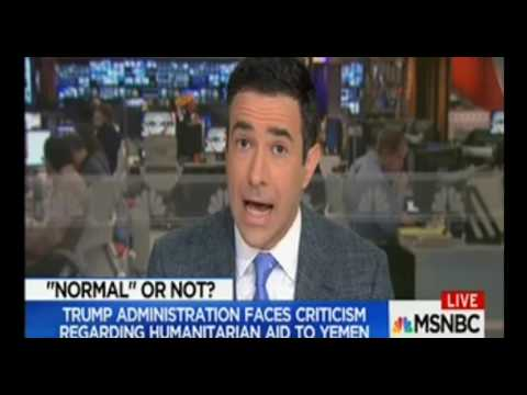 Ari Melber covered Yemen for a couple of minutes on MSNBC!!