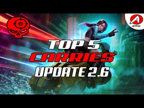 Vainglory Top 5 Heroes To Play Update [2.6] - Carry Edition
