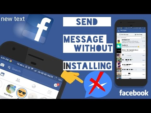 HOW TO CHAT IN FACEBOOK APP WITHOUT MESSENGER !!! - NO ROOT [WORKING 100%] (2017)