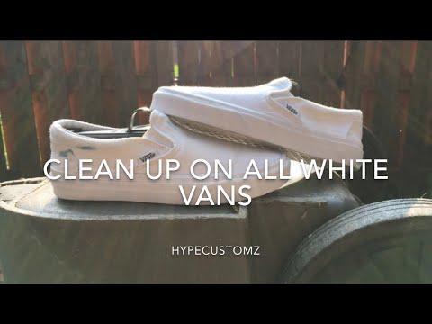 Clean Up On Vans 🔥