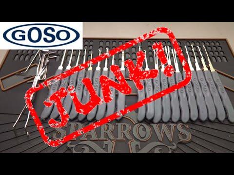(766) Review: GOSO 24-Piece Lock Pick Kit (JUNK!)