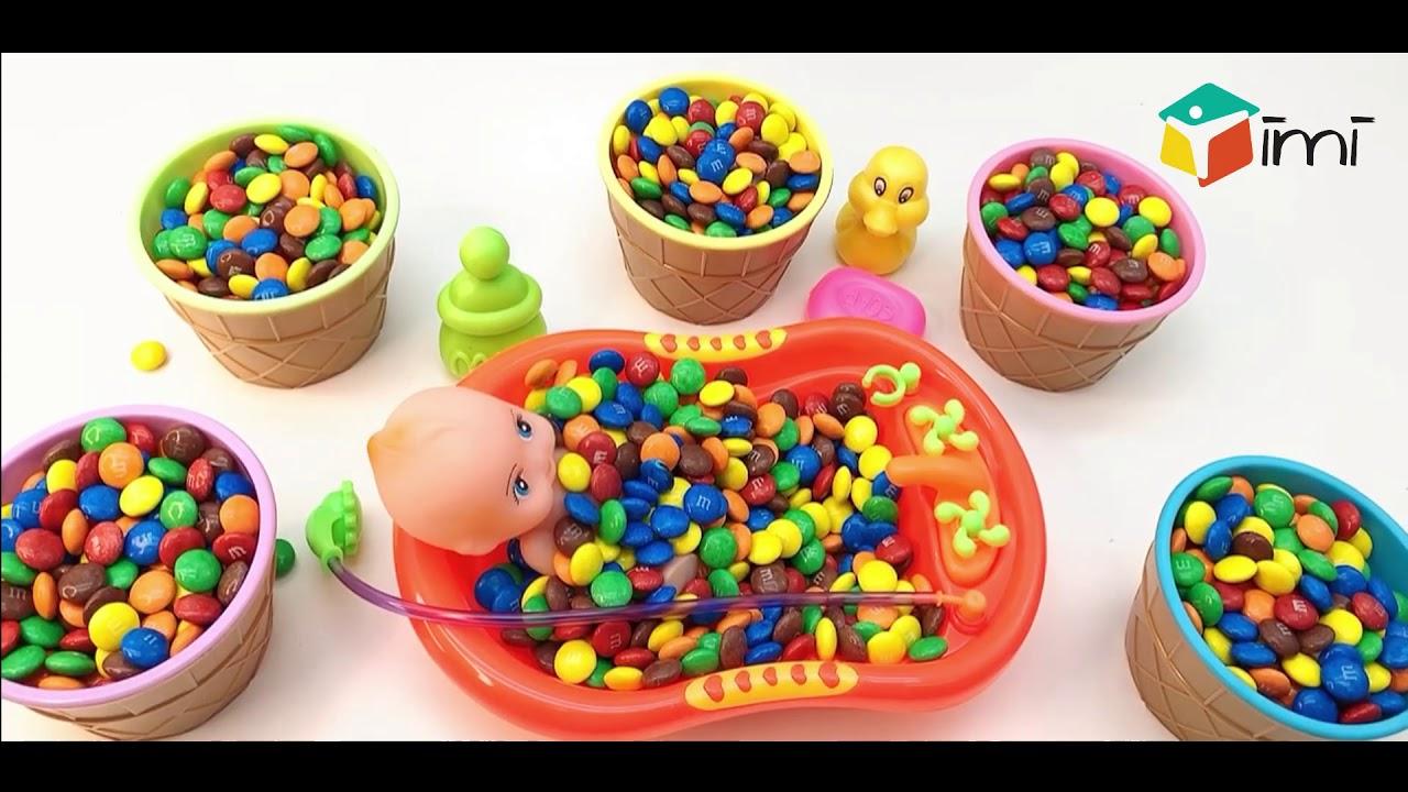 M/&M/'s Tripple Dispenser Candy Sweet Chocolate Dispenser kids Gift Birthday