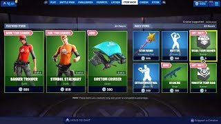 Fortnite New Free Mecha Or Monster Banner Banner Skin Banner Glider Banner Pickaxe Banner Cape