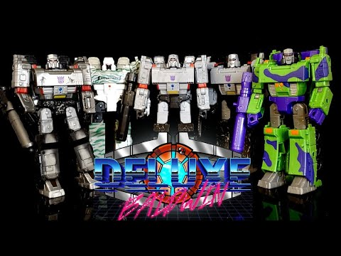 Transformer Megatron Thing: Generation Selects G2 VS Earthrise VS Siege WFC by Deluxe Baldwin
