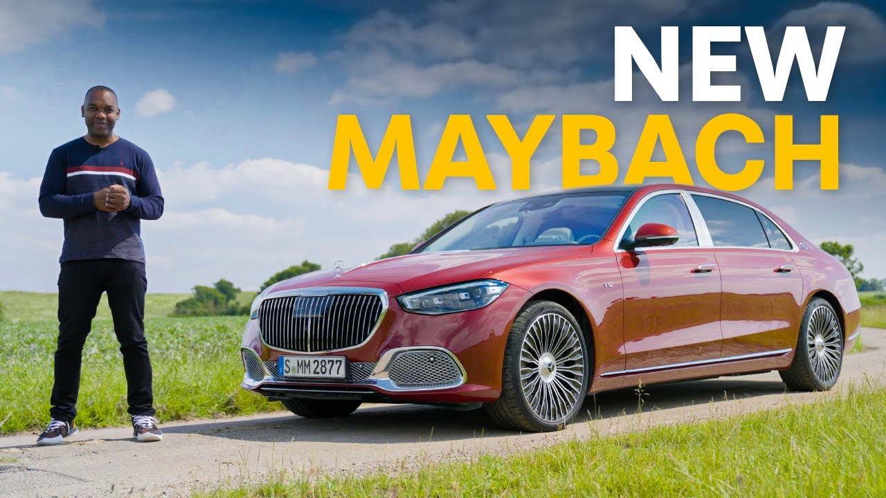 NEW Mercedes Maybach S680: The £200,000, 612hp PINNACLE of Luxury?   4K