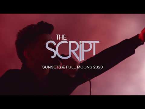 The Script - Sunsets & Full Moons 2020 Tour
