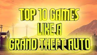 Top 10 jocuri de gen GTA