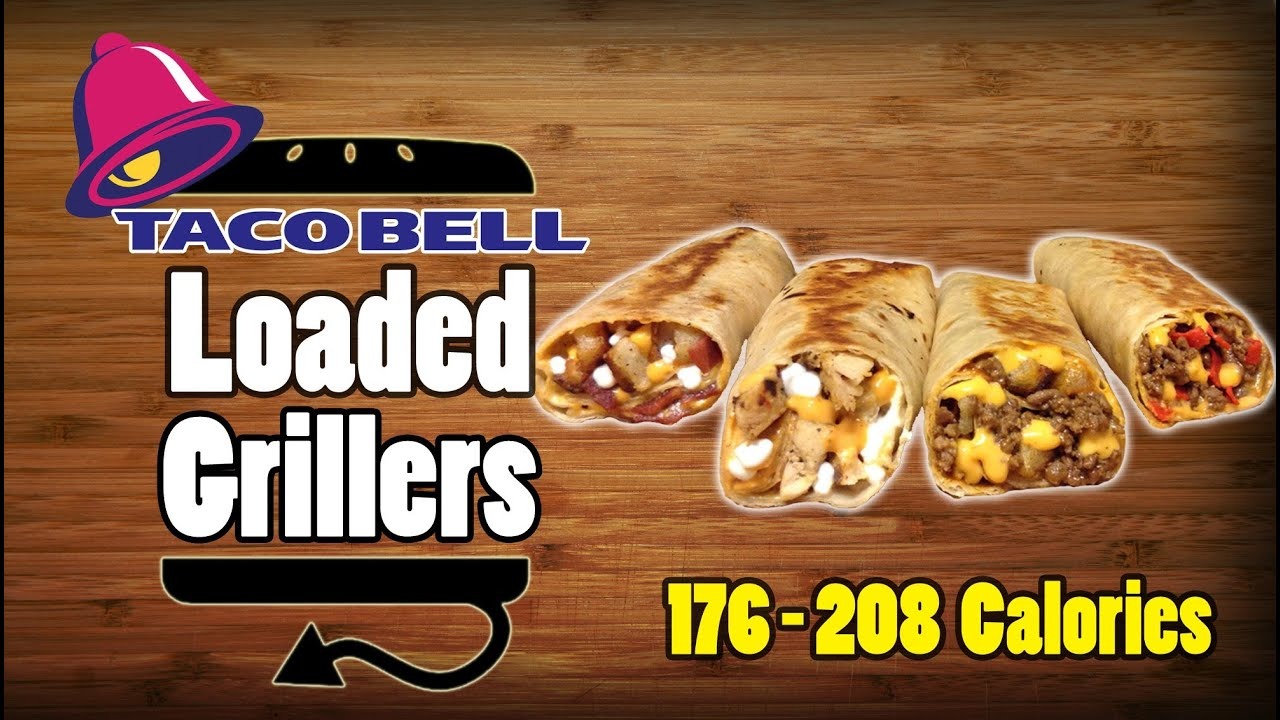 All Four Taco Bell Loaded Grillers Recipe - YouTube