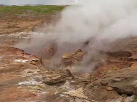 Geothermal area in Iceland 2