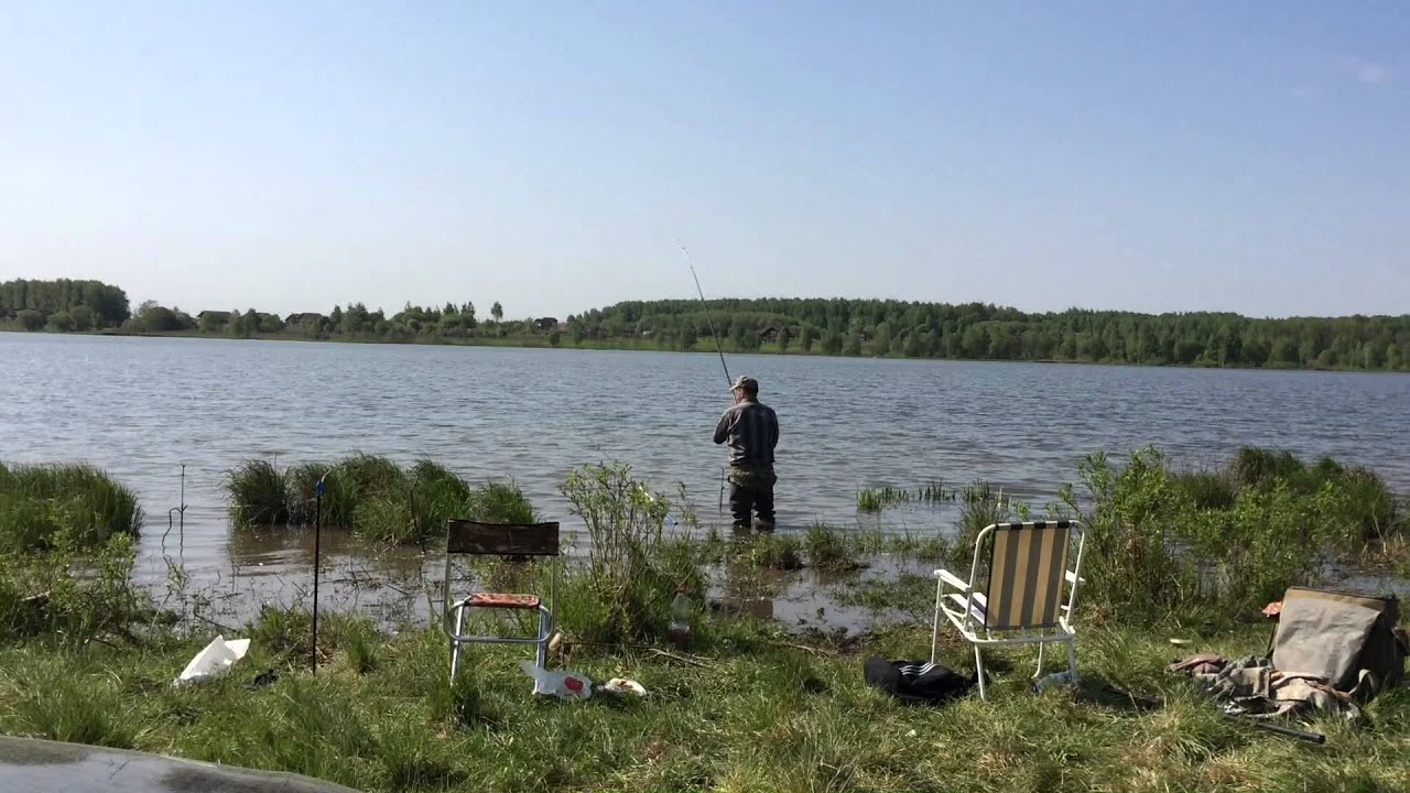 Ловля карася в Ясногорске Тульской области