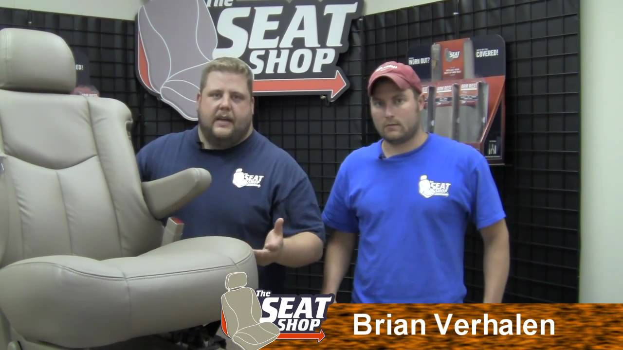 00 06 Chevy Gmc Cadillac Replacement Arm Rest Install