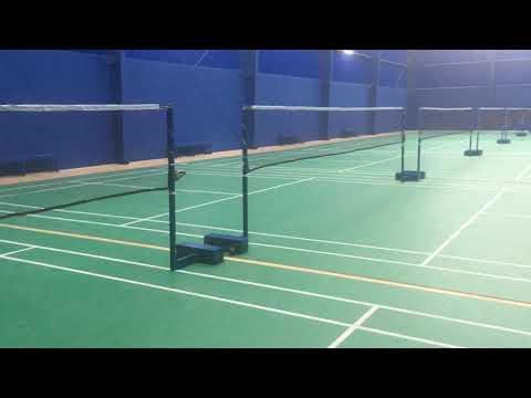 Gold Star Badminton Net Posts - Model GSP-90k
