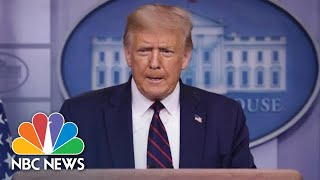 Live: Trump Holds News Conference At White House | NBC News