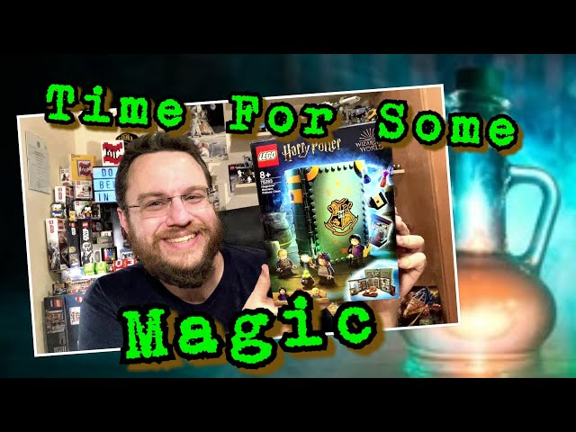 It's A Kind Of Magic - Harry Potter Book: Potions Class (Lego Hogwarts Moment 76383)
