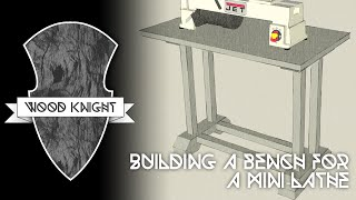 043 - Building A Fancier Work Bench For The Mini Lathe