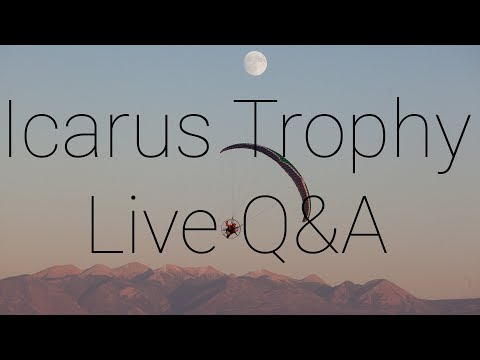 Icarus Trophy Q&A - Live Stream