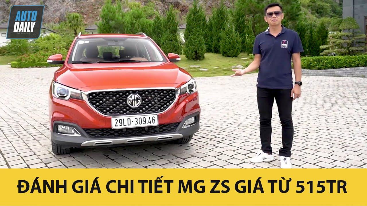 Đánh giá MG ZS 2020 giá từ 515 triệu đồng - Chi tiết ưu nhược điểm  Autodaily.vn 