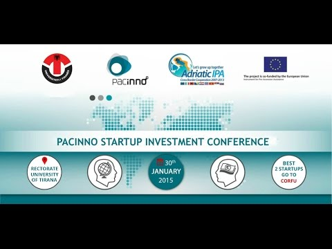 Pacinno Startup Investment Conference, Albania 2015