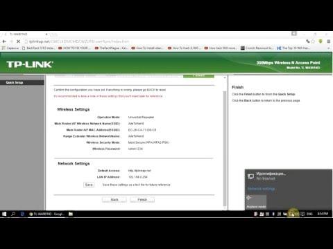 tp link extender setup instructions