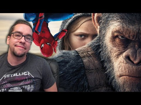 War for the Planet of the Apes Drops Spider-Man Homecoming to Second - Box Office