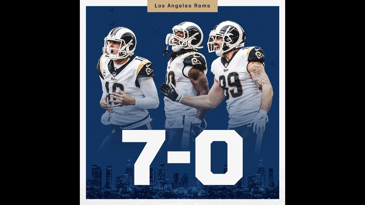edc778780 LA Rams defeat SF 49ers and remain undefeated (7-0) - YouTube