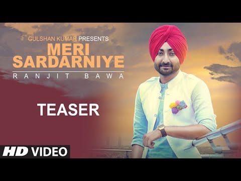 Ranjit Bawa: Meri Sardarniye (Song Teaser) | Jassi X | Latest Punjabi Song 2016 | T-Series