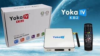 YoKa TV KB2 Amlogic S912 Octa Core Android 6.0 4K TV box