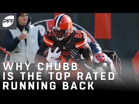 Why Nick Chubb is the Top Rated Running Back So Far | Pro Football Focus