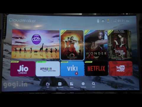 CloudWalker Cloud Smart TV 65 inch Ultra HD (4K) Curved LED TV (Hindi)