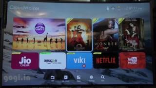 CloudWalker Cloud Smart TV 65 inch Ultra HD (4K) Curved LED TV (Hindi)