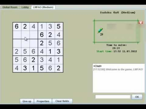 Sudoku 6x6 medium(x10)