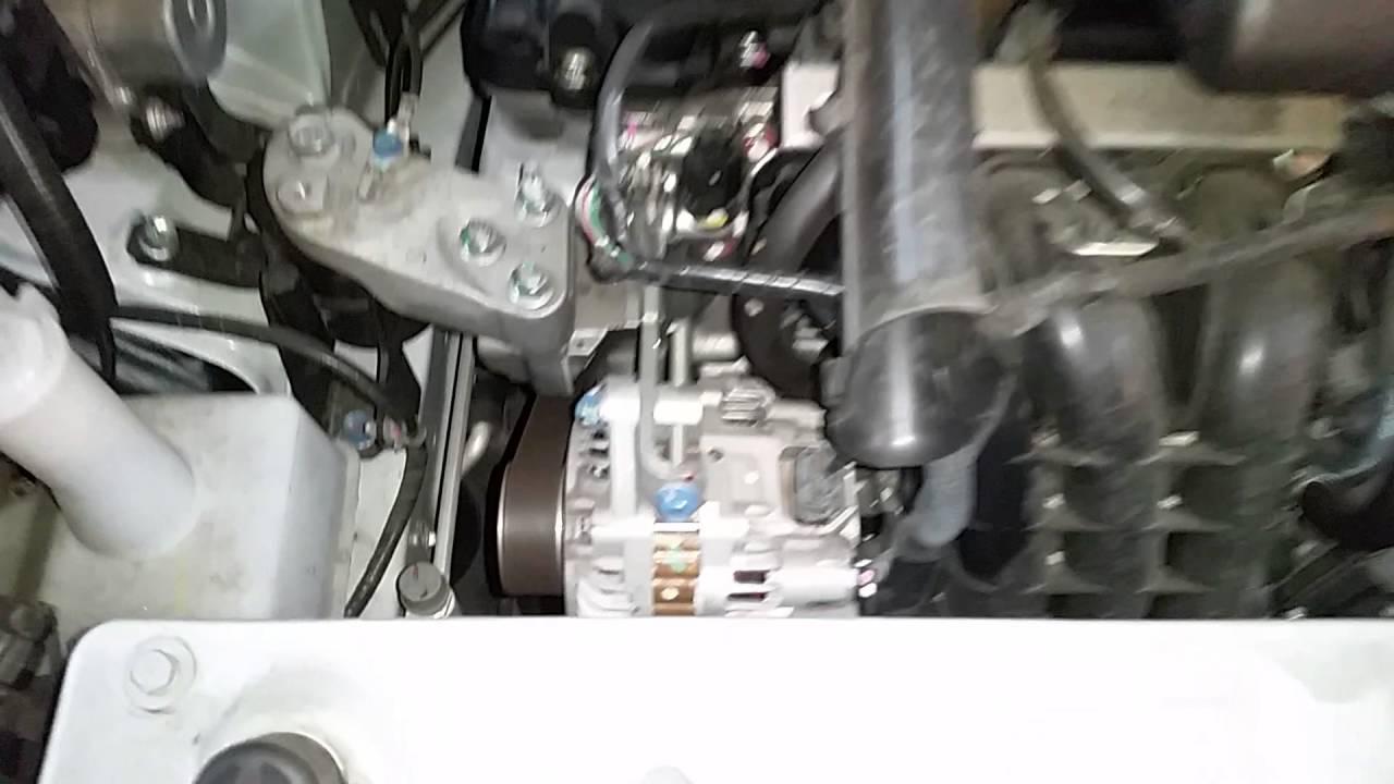 2012-2016 Mitsubishi Mirage 1.2L Engine Idling After Oil Change, Spark on