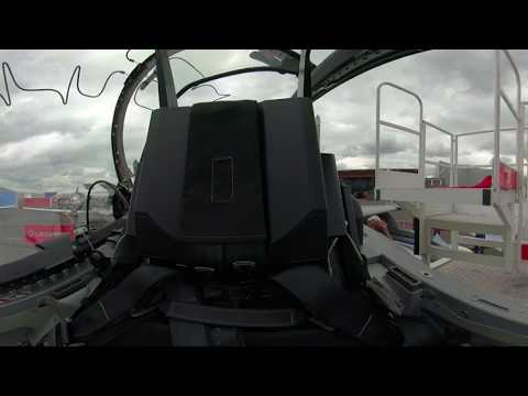360° experience at #PAS19: M346FA cockpit