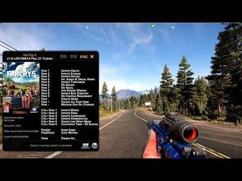 Far Cry 5 Trainer 2018 (Working All Version)