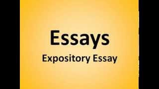 Types Of Expository Essays  Megancoxministriescom Expository Essay Examples  Organization Is One Of The Keys To Having A  Successful Expository Essay If It Is Unorganized It May Not Matter What  Else You  High School Narrative Essay Examples also Thesis Statement Examples For Persuasive Essays  How To Write A Proposal Essay Outline