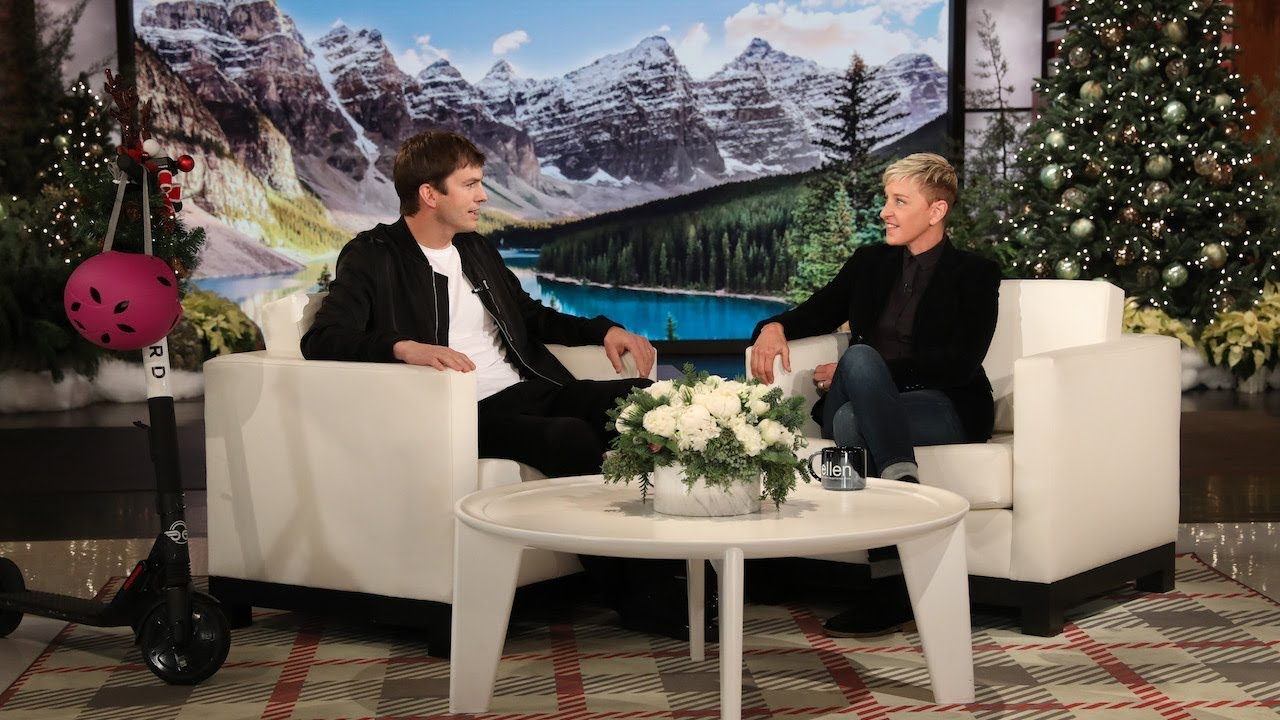 Ellen Helped Rekindle Ashton Kutcher and Dax Shepard's Bromance