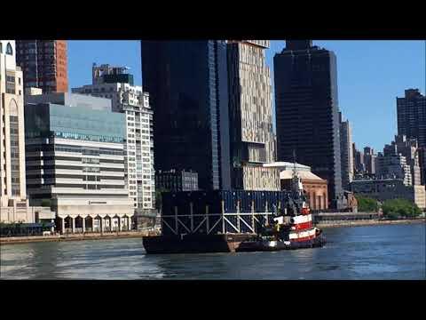 NY Manhattan Cargo Ships