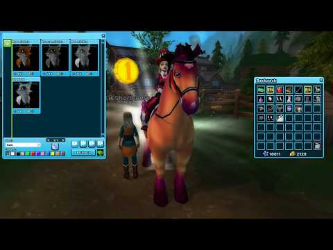 Star Stable update new mist foxes and new charterer features!!!!!!!